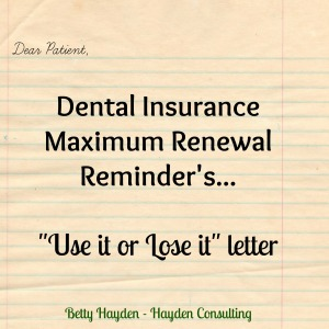hayden consulting insurance maximum renewal letter