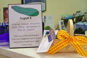 patient appreciation gift idea zucchini