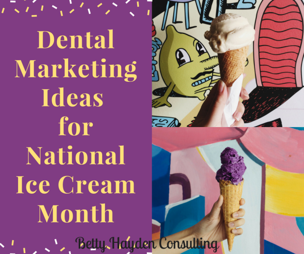 Dental Marketing Ideas for National Ice Cream Month