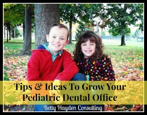 dental tips and ideas for pediatric dental practice