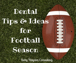 dental office tips and ideas for marketing during football season