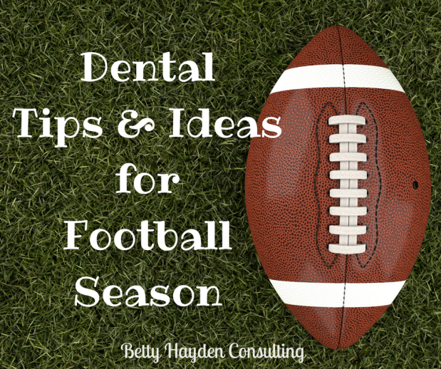 Dental Office Tips and Ideas for Football Season